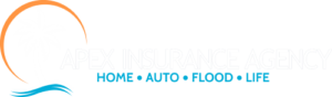 Apex Insurance Agency Logo White