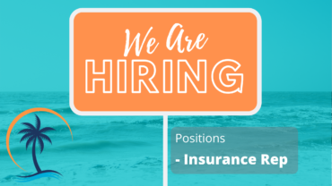 We are hiring an Insurance Rep